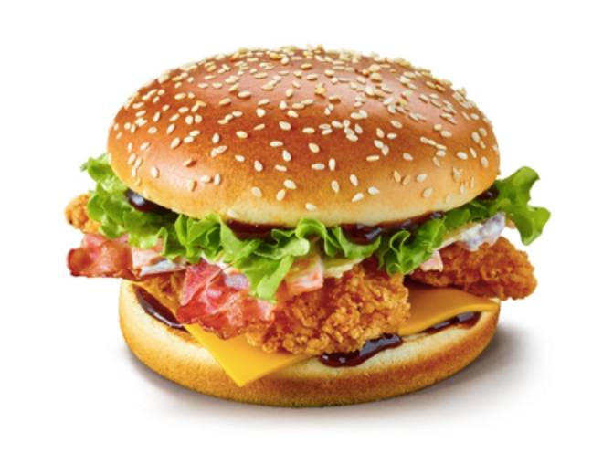 The Sticky and Sweet BBQ Chicken burger is back (Credit: McDonald's)