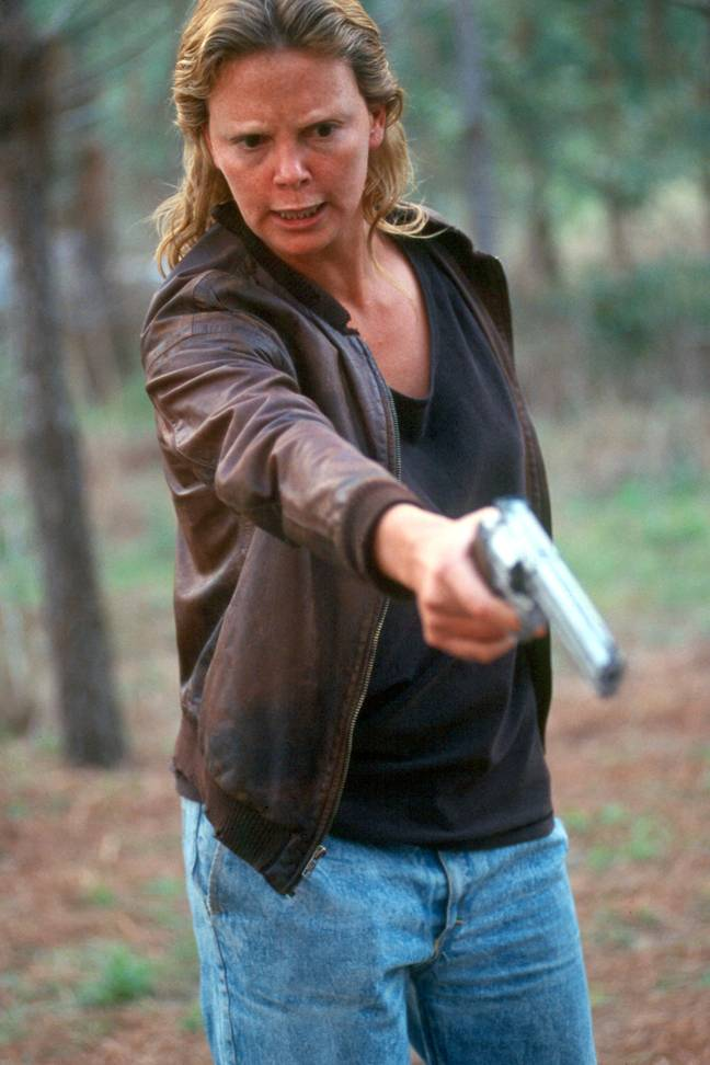 Charlize Theron depicted Aileen Wuornos in 2003's 'Monster' (Credit: PA)