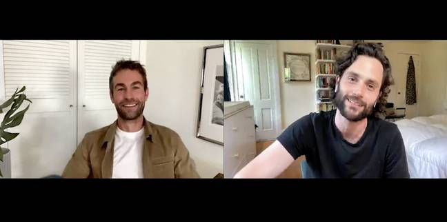 Chace and Penn chatted about their new roles (Credit: Youtube/ Variety)
