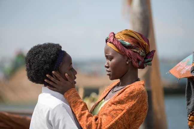 Lupita Nyong'o stars in Queen of Katwe (Credit: Disney)