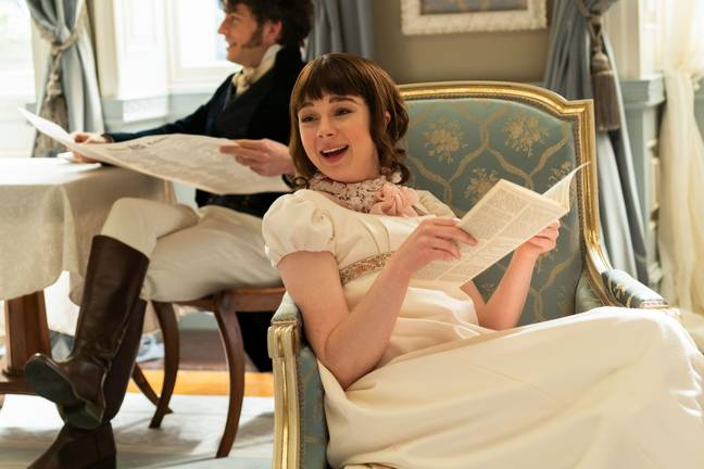 Eloise finds love in To Sir Phillip, With Love (Credit: Netflix)