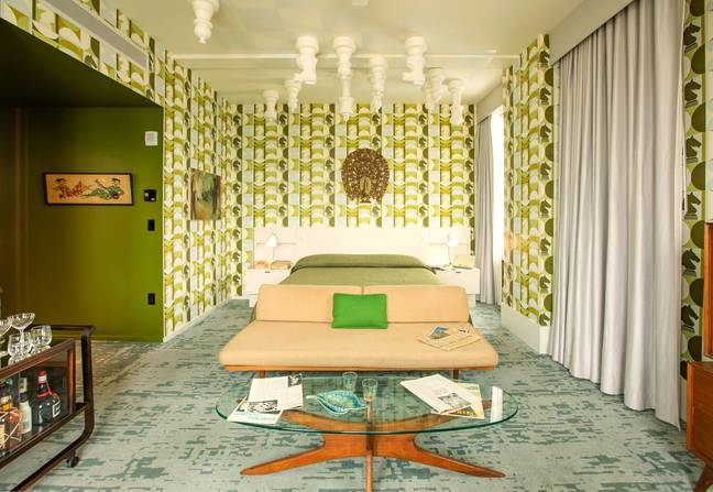 You can now stay in a retro hotel room inspired by Queen's Gambit (Credit: VisitLEX)