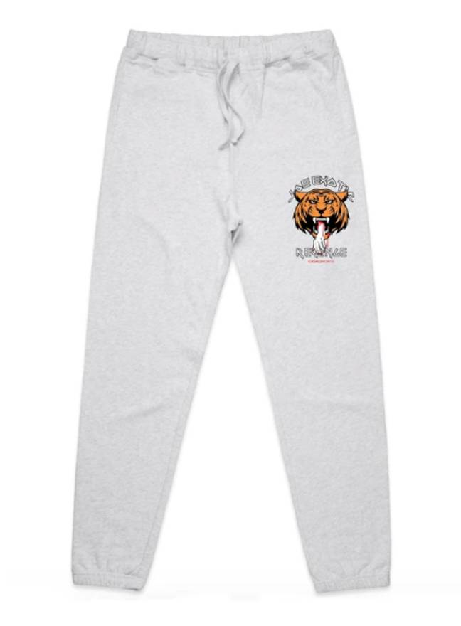 Trackies with a tiger on are also on sale (Credit: Odaingerous.com)