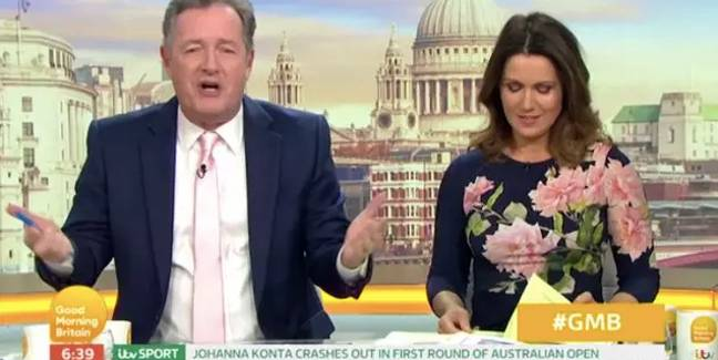 Piers Morgan did an impression of the Chinese language (Credit: ITV)