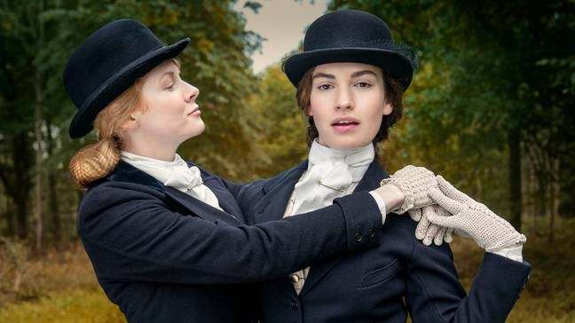 Lily James and Emily Beecham star as the two leads (Credit: BBC)