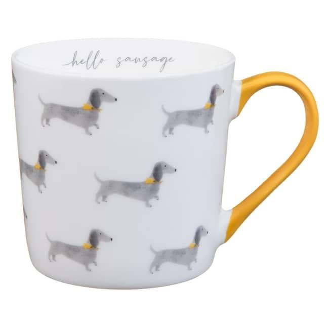 The adorable sausage dog mug (Credit: B&M)