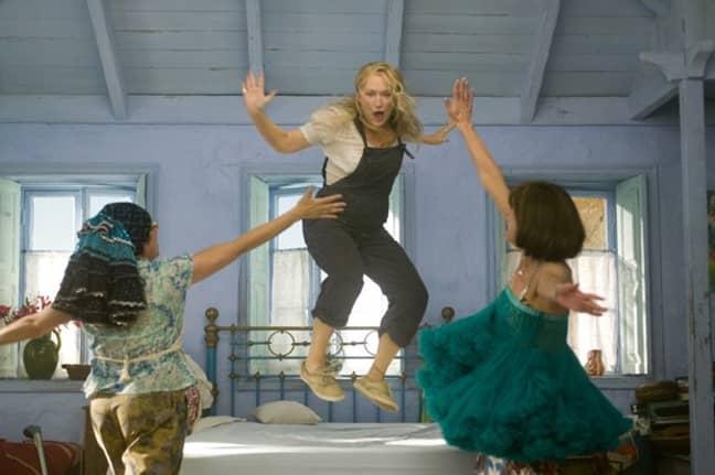 Meryl Streep leads in cult classic Mamma Mia! (Credit: Universal)