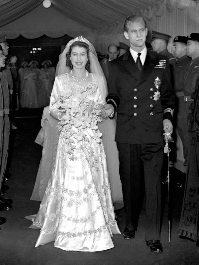 The pair were married in November 1947 (Credit: PA)