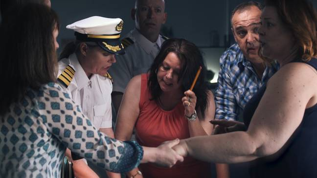 Investigators aim to find out what has happened to some of the missing passengers (Credit: A+E Networks)