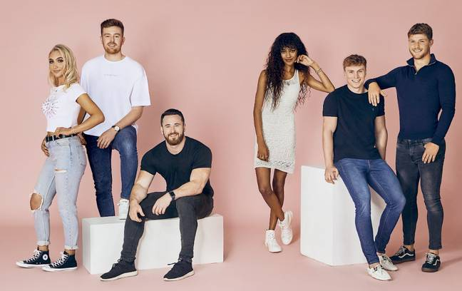 From left to right: 25) Ali, 26) James P, 27) Taylor, 28) Paris, 29) James L 30) Marcus Credit: Cosmopolitan/ Tinder