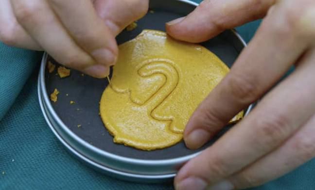 The cookie features in a challenge the players have to undertake in one episode (Credit: Netflix)