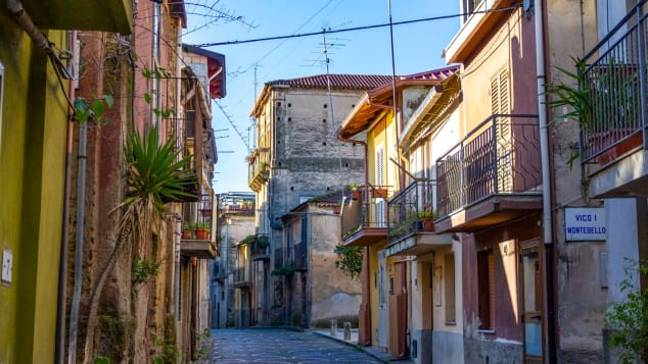 The quaint village is in need of some love (Credit: Guiseppe Tripodi/Municipality of Cinquefrondi)