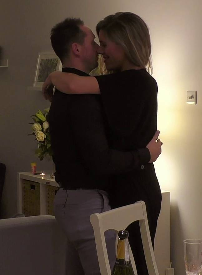 Christian Sanderson confirmed on Instagram that he and Amy Butterworth were no longer together (Credit: Channel 4)