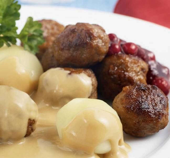 There's a recipe for the Swedish cream sauce, too (Credit: IKEA)