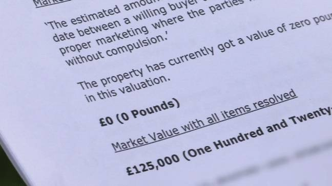 Shocked home owners were given £0 valuations (Credit: BBC Rip Off Britain)