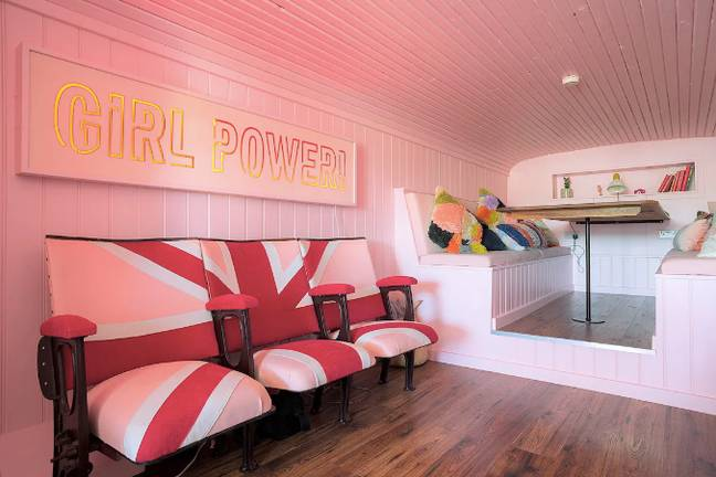 Nods to the Spice Girls can be found everywhere (Credit: Airbnb)