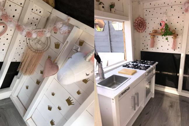 It even has its own kitchen (Credit: Katie Corry)