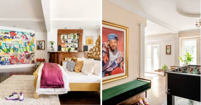 The property is decked out for a Fresh Prince (Credit: Airbnb)