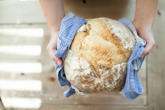 You can also dab your bread with a tea towel (Credit: Pexels)