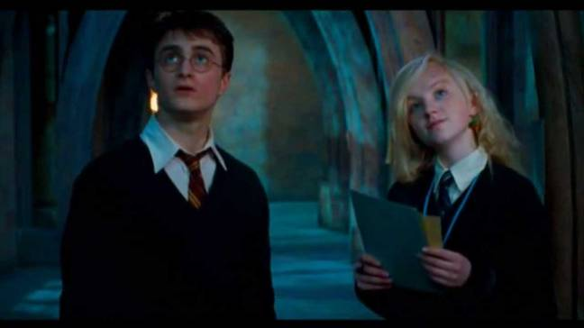 Harry and Luna are strangely well suited (Credit: Warner Bros)