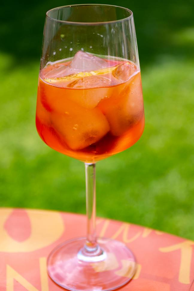 We'll be cracking open the Aperol (Credit: Wikimedia)