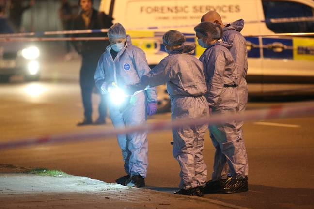 It was confirmed yesterday that unidentified human remains had been found (Credit: PA)