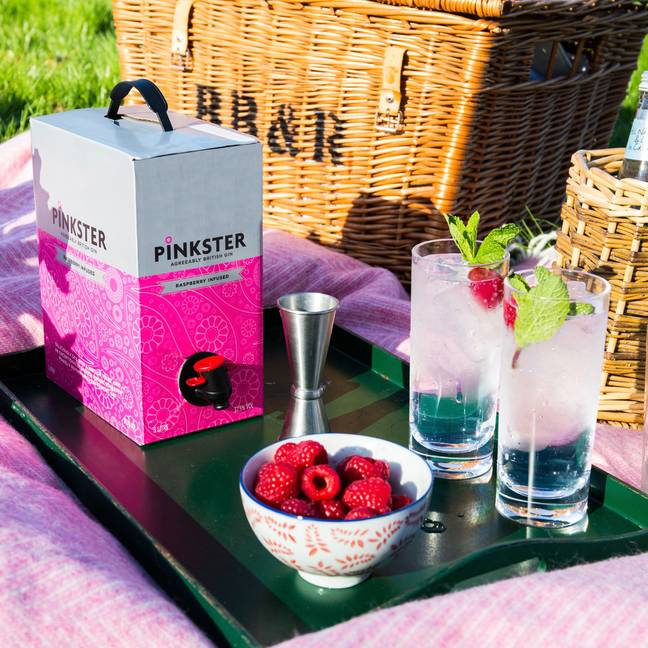 It was designed for festivals and picnics, but also works in lockdown (Credit: Pinkster Gin)