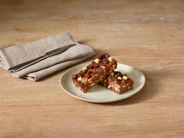 Costa has also teamed up with vegan recipe channel, BOSH! to create the new Ultimate Chocolate Slice (Credit: Costa Coffee)