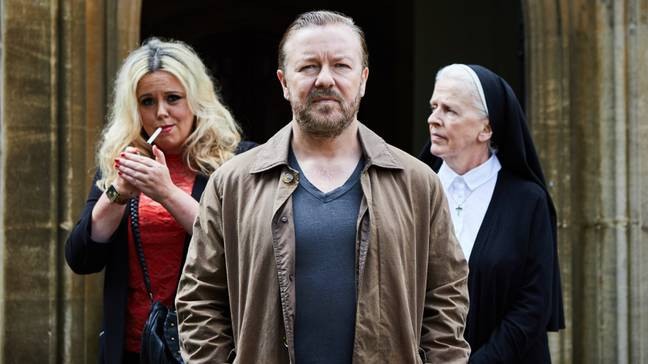 After Life is the most watched British comedy in the world this year (Credit: Netflix)