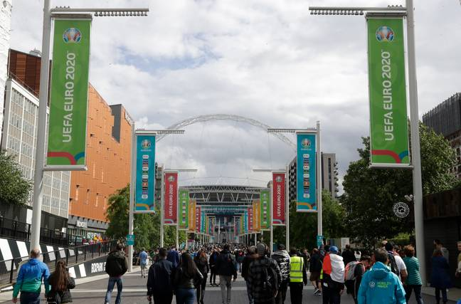 The match will take place at Wembley (Credit: PA)