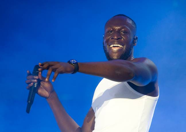 The rapper has not spoken publicly about the split until now (Credit: PA)