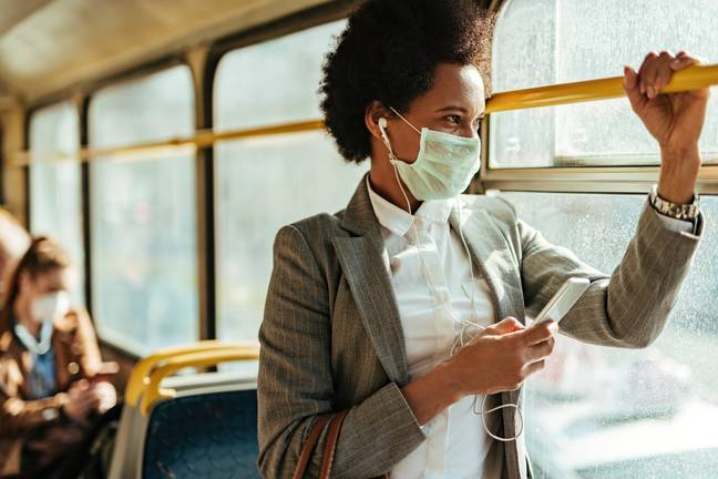 According to a YouGov study, 90 per cent of incidents on public transport go unreported (Credit: Shutterstock)