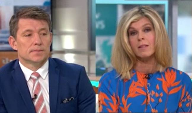Kate opened up on GMB (Credit: ITV)