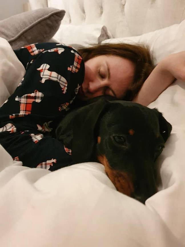 Laura has found herself having to sleep more after contracting Covid (Credit: Laura Johnson)