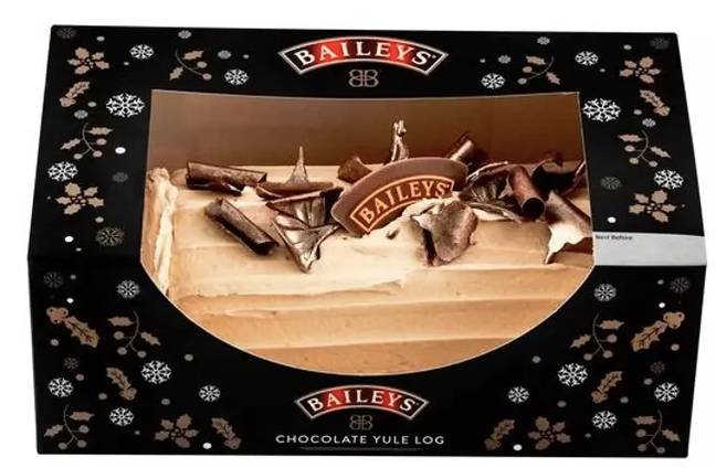 The Baileys yule log is back (Credit: Baileys)