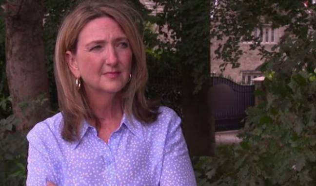 Victoria Derbyshire heard from abuse victims about their time over lockdown (Credit: BBC Panorama)