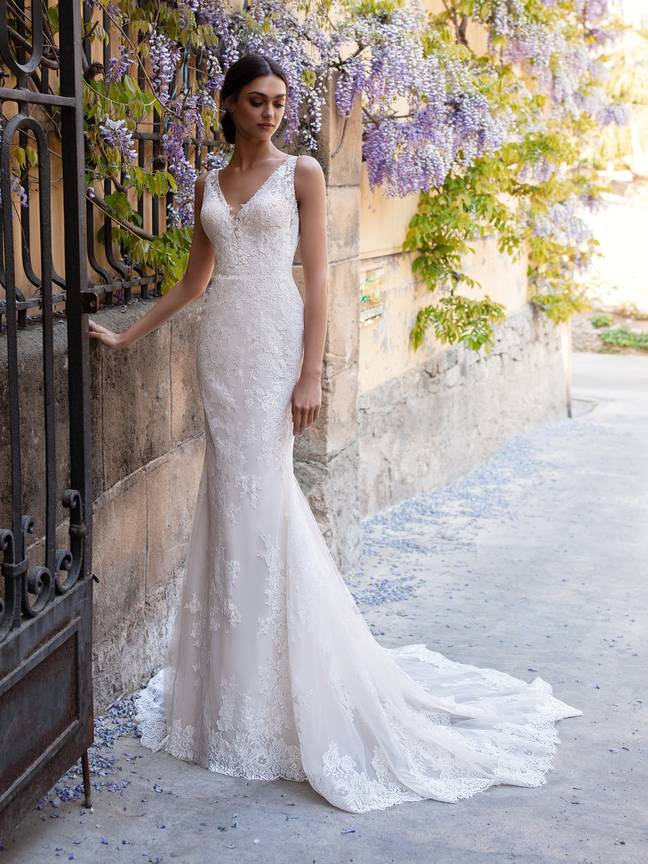 While the exact dressed in the collection are available to view on appointment only, you can bet they'll be just as stunning as the brand's other designs (Credit: Pronovias)