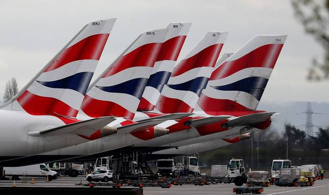 The majority of British Airways flights have been cancelled (Credit: PA)