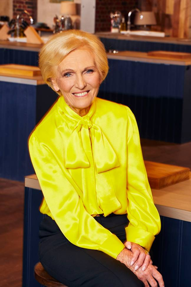 Mary Berry is a judge on the BBC cooking show (Credit: BBC/ Best Home Cook)