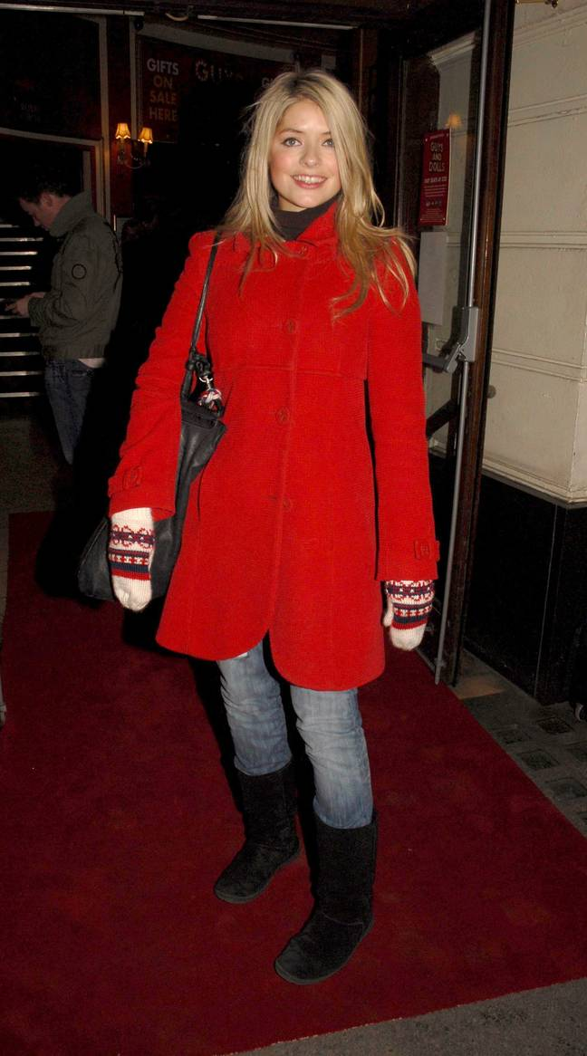 Holly Willoughby was also a fan of UGGs (Credit: Shutterstock)
