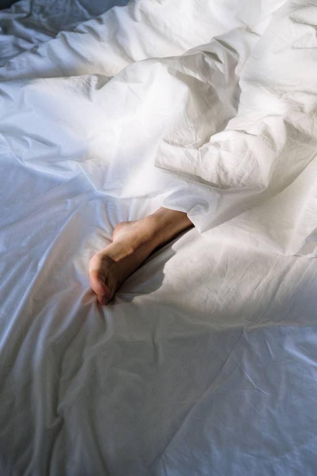 If you're experiencing night sweats there could be a number of reasons why (Credit: Pexels)