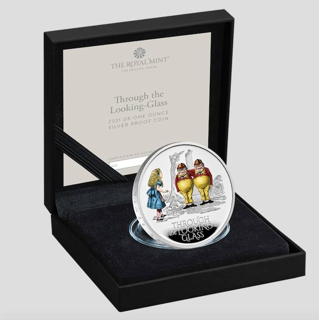 A Tweedledum and Tweedledee coin is also available (Credit: The Royal Mint)