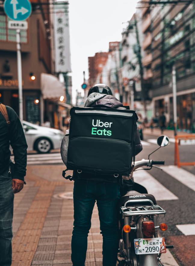Uber Eats will collect your shopping (Credit: Unsplash)