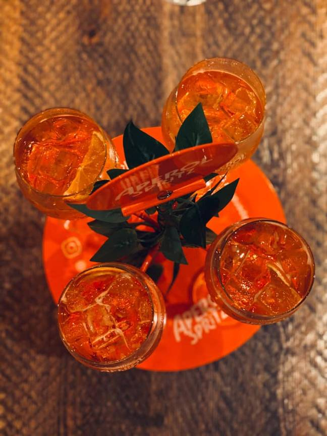 Aperol on tap? Count us in (Credit: The Botanist)