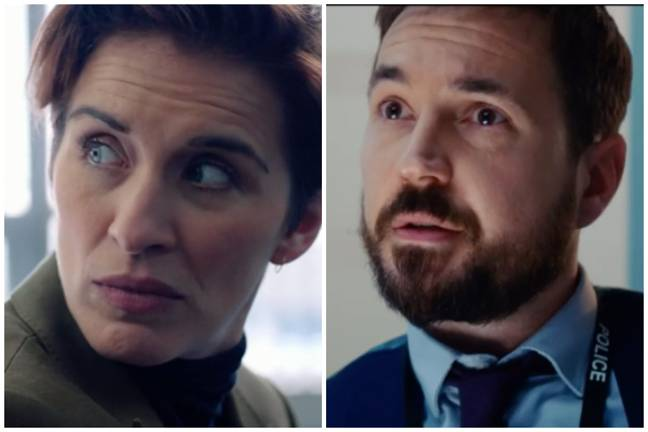 Kate and Steve are trying to uncover who the mysterious H could be (Credit: BBC)
