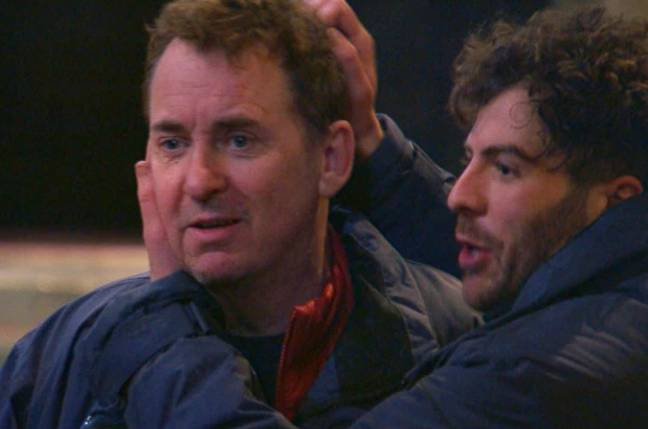 Shane was quick to tell his campmates about R&R (Credit: ITV)