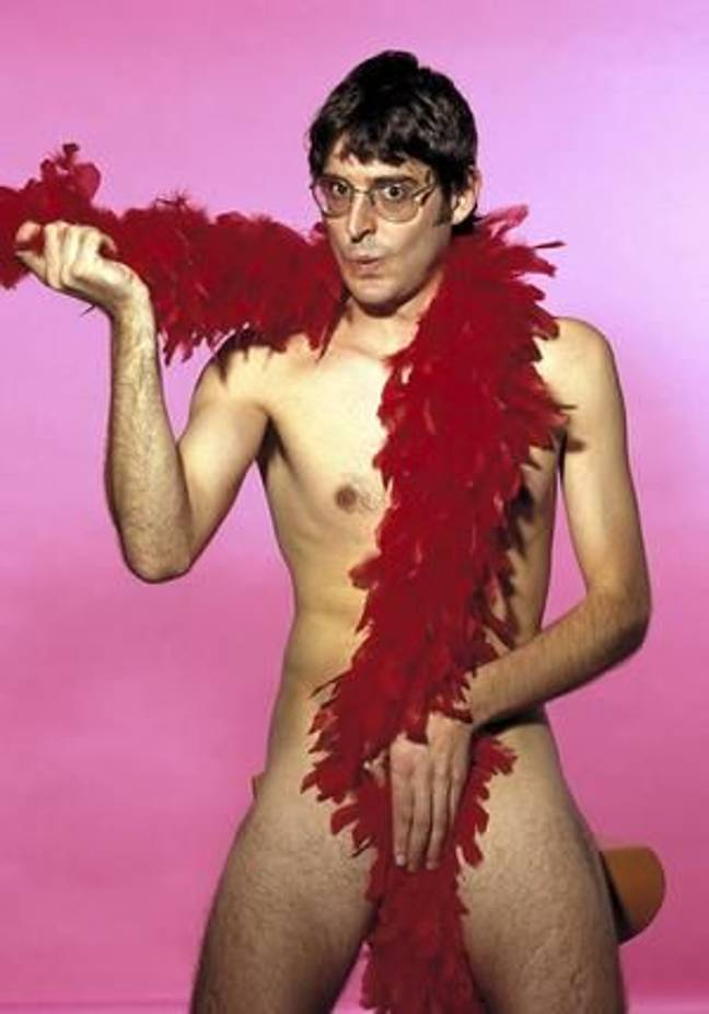 The tattoo is based on this iconic Louis Theroux image Credit: BBC