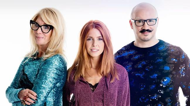 Stacey Dooley will be joined by judges Val Garland and Dominic Skinner (Credit: BBC)