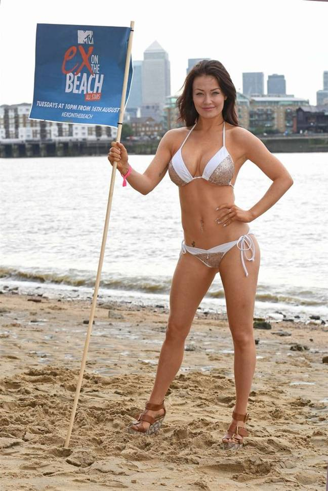 Jezz Impiazzi on Ex on The Beach in 2015 (Credit: MTV)