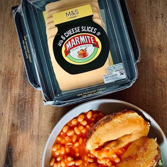 The crumpets are the latest in a line of Marmite favoured products (Credit: Marks & Spencer)